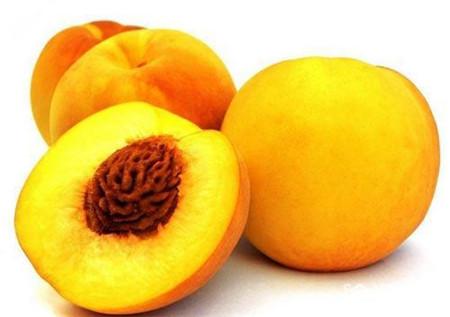 黄桃的果肉